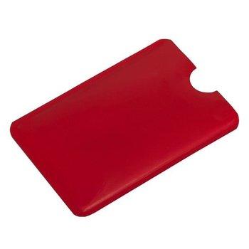 Etui na kartę zbliżeniową RFID Czerwony 5 sztuk - czerwony-UPOMINKARNIA