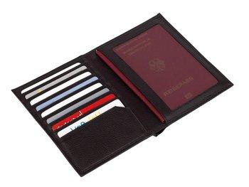 Etui na karty i paszport KEMER VACATION Czarny-KEMER