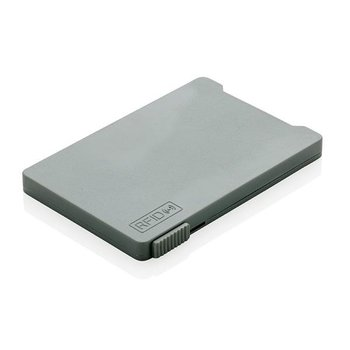 Etui na karty z ochroną RFID Szare - szary-XD COLLECTION