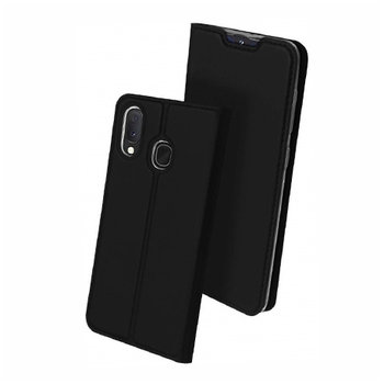 Etui na Samsung Galaxy A20e - magnet pro skin - Czarny.-EtuiStudio