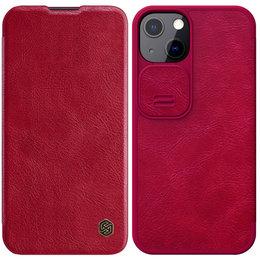 Etui Nillkin QIN Pro do Apple iPhone 13 (Czerwone)