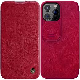 Etui Nillkin QIN Pro do Apple iPhone 13 Pro (Czerwone)