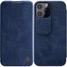 Etui Nillkin QIN Pro do Apple iPhone 13 Pro (Niebieskie)