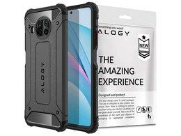 Etui obudowa Alogy Hard Armor do Xiaomi Mi 10T Lite szare + Szkło Alogy
