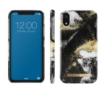 Etui ochronne na Apple iPhone XR IDEAL OF SWEDEN Black Galaxy Marble-iDeal Of Sweden AB