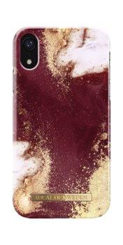 Etui ochronne na Apple iPhone XR IDEAL OF SWEDEN Golden Burgundy Marble-iDeal Of Sweden AB