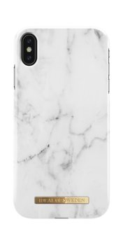 Etui ochronne na Apple iPhone Xs Max IDEAL OF SWEDEN White Marble - iDeal Of Sweden AB