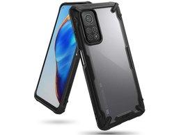 Etui ochronne Ringke Fusion X do Xiaomi Mi 10T 5G/ Mi 10T Pro 5G + Szkło Alogy