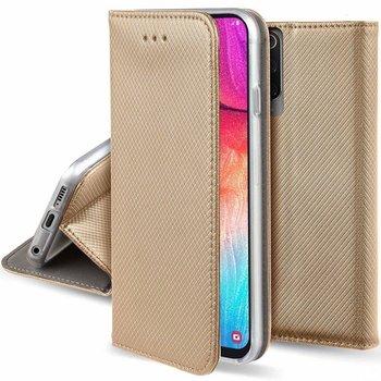 Etui XIAOMI REDMI NOTE 9S portfel z klapką Flip Magnet złote-Nemo