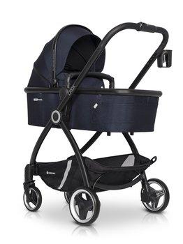 Euro-Cart, Crox, Wózek głęboko-spacerowy, Cosmic Blue-Euro-Cart