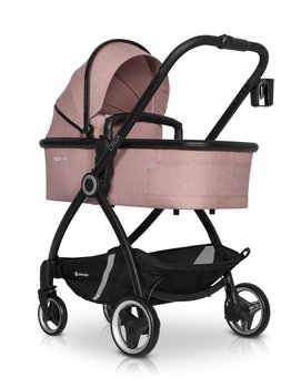 Euro-Cart, Crox, Wózek głęboko-spacerowy, Rose-Euro-Cart