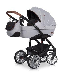 Euro-cart, Delta, Wózek głęboko-spacerowy, Grey fox-Euro-Cart