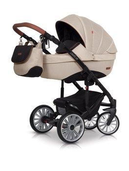 Euro-cart, Delta, Wózek głęboko-spacerowy, Latte-Euro-Cart