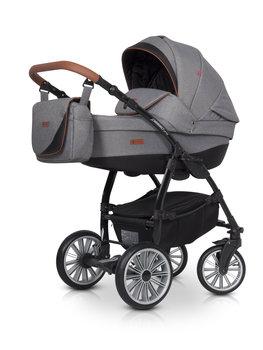 Euro-Cart, Passo Pro, Wózek głęboko-spacerowy, Anthracite-Euro-Cart