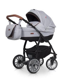 Euro-Cart, Passo Pro, Wózek głęboko-spacerowy, Grey fox-Euro-Cart
