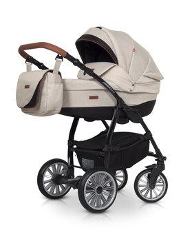 Euro-Cart, Passo Pro, Wózek głęboko-spacerowy, Latte-Euro-Cart