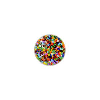 Euroclass, koraliki ozdobne, okrągłe, różnokolorowe, 16 g