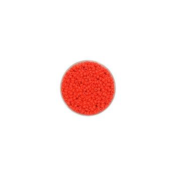 Euroclass, koralikiozdobne, okrągłe, czerwone, 17 g