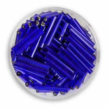 Euroclass, szklane patyczki, ciemnoniebieskie, 15 mm, 15 g