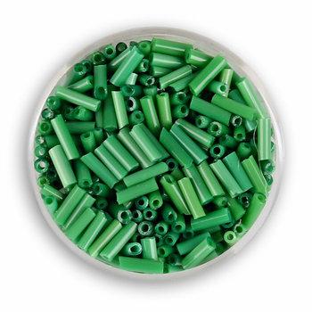 Euroclass, szklane patyczki, zielone, 6 mm, 14 g