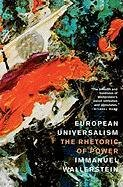 European Universalism-Wallerstein Immanuel