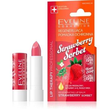 Eveline, Lip Therapy Professional, pomadka regenerująca do ust Strawberry Sorbet-Eveline
