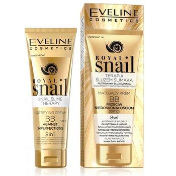 Eveline, Royal Snail, matujący krem BB przeciw niedoskonałościom SPF10, 50 ml-Eveline