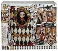 Ever After High, księga Baśniowiosny + lalka Lizzie Hearts, 2w1, zestaw, CDM54