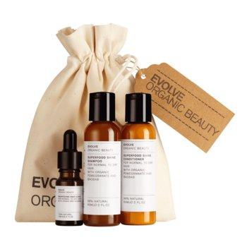 Evolve Organic Beauty, zestaw kosmetyków, 3 szt.-Evolve Organic Beauty