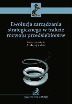 Ewolucja zarządzania strategicznego w trakcie rozwoju przedsiębiorstw                      (ebook)
