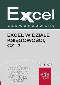 Excel w dziale księgowości. Część 2. Excel zaawansowany. Tom 8-Dynia Piotr, Kudliński Jakub