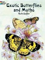 Exotic Butterflies and Moths-Soffer Ruth, Coloring Books