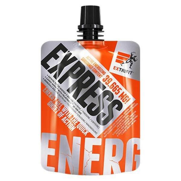 Extrifit, Suplement diety, Express Gel, wiśnia, 80 g