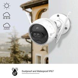 EZVIZ Kamera zewnętrzna Wi-Fi C3X, biała