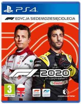 F1 2020 - Edycja Siedemdziesięciolecia + Steelbook-Codemasters