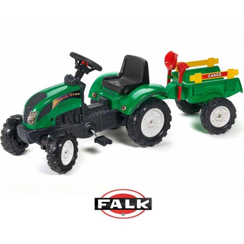 Falk, traktor na pedały Ranch - FALK