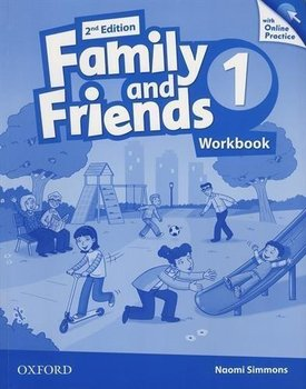 Family and Friends 1. Edition 2. Workbook + Online Practice Pack - Simmons Naomi