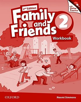 Family and Friends 2. Edition 2. Workbook + Online Practice Pack-Simmons Naomi