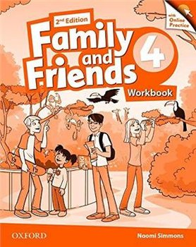 Family and Friends 4. Edition 2. Workbook + Online Practice Pack-Simmons Naomi