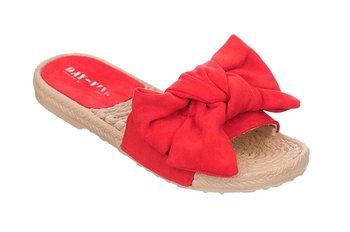 Family Shoes, Klapki damskie, Kokarda, rozmiar 38-Family Shoes