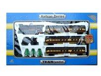 Fancy Toys, Kolejka elektryczna pasażerska z rozjazdami + wagon do przewozu węgla