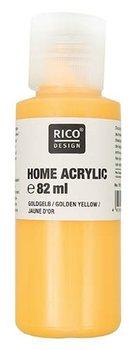 Farba akrylowa, Home, 82 ml, żółty złocisty