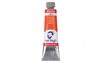Farba akrylowa, Van Gogh, 40 ml, czerwony, 311
