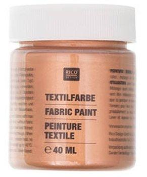 Farba do tkanin, brązowy, 40 ml