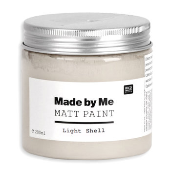 Farba matowa, Made by Me, Light Shell, 200 ml
