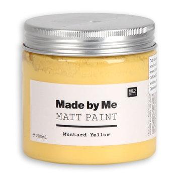 Farba matowa, Made by Me, Mustard Yellow, 200 ml