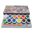 Farby akrylowe, 12 kolorów-Creadu