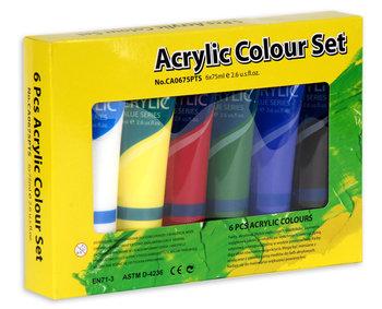 Farby Akrylowe 6 Kolorow Sklep Empik Com