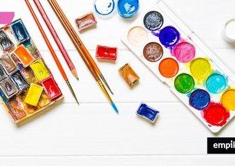 Farby akwarelowe czy akrylowe - które wybrać?