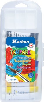 Farby tempera, 10 kolorów-Eurocom